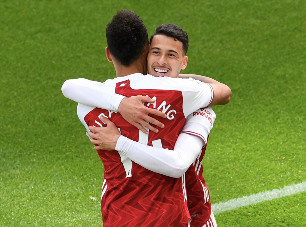 'Incredible work' – Pierre-Emerick Aubameyang hails Gabriel Martinelli after Arsenal's morale-boosting win over Newcastle