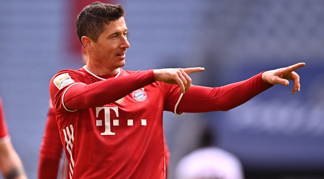 55Score, 'Mueller would be happy if Lewandowski equals record'