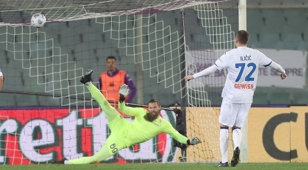 Atalanta edge Fiorentina in thriller to climb back into fourth