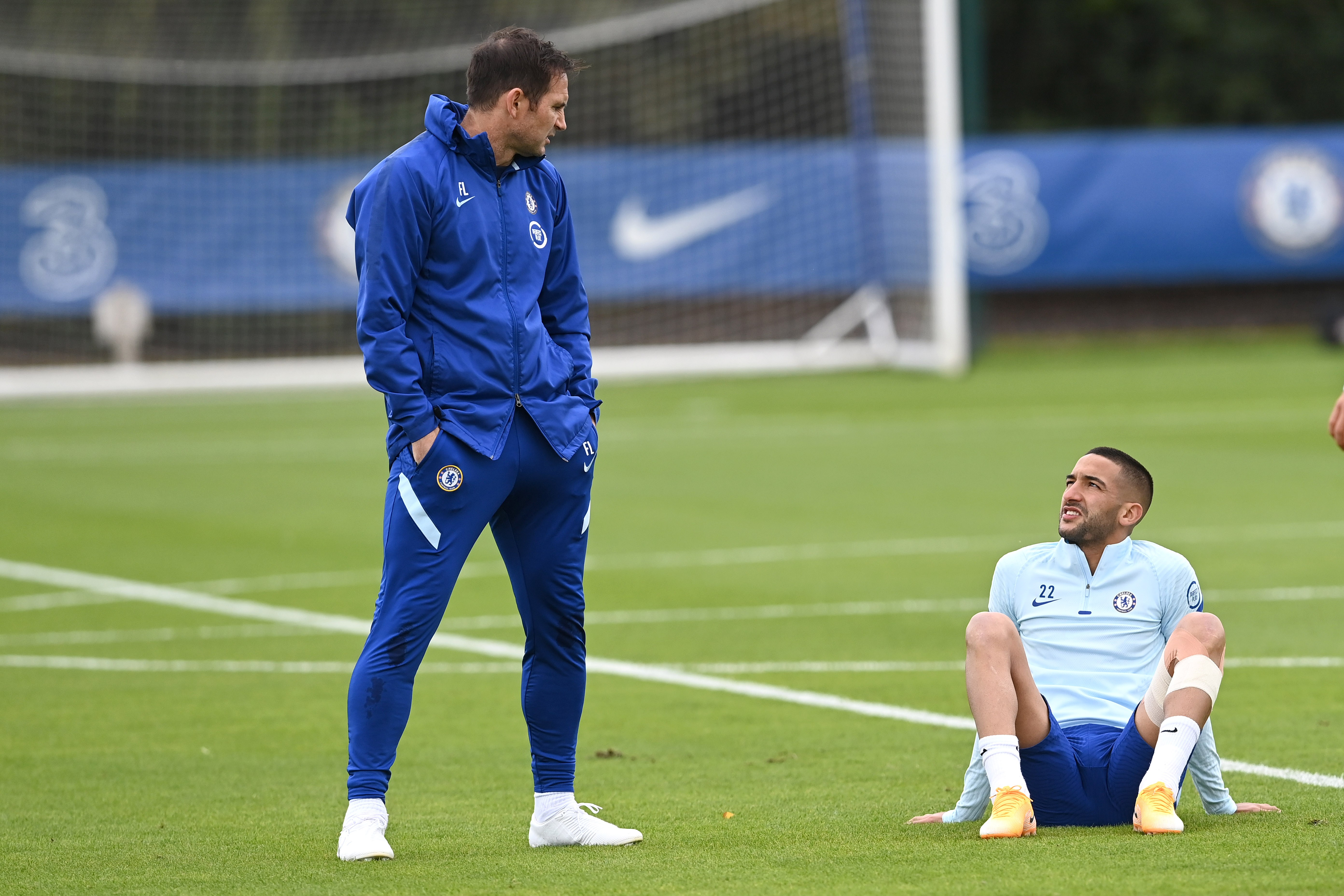 Chelsea boss Frank Lampard reveals what impressed him when he first spoke to Hakim Ziyech