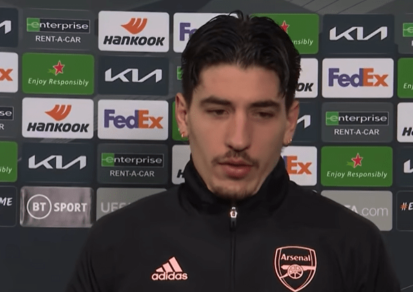 Hector Bellerin makes bizarre claim over Arsenal's performance against Slavia Prague