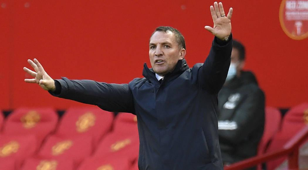 55Score, Leicester still have 'work to do' to finish in top four, says Rodgers