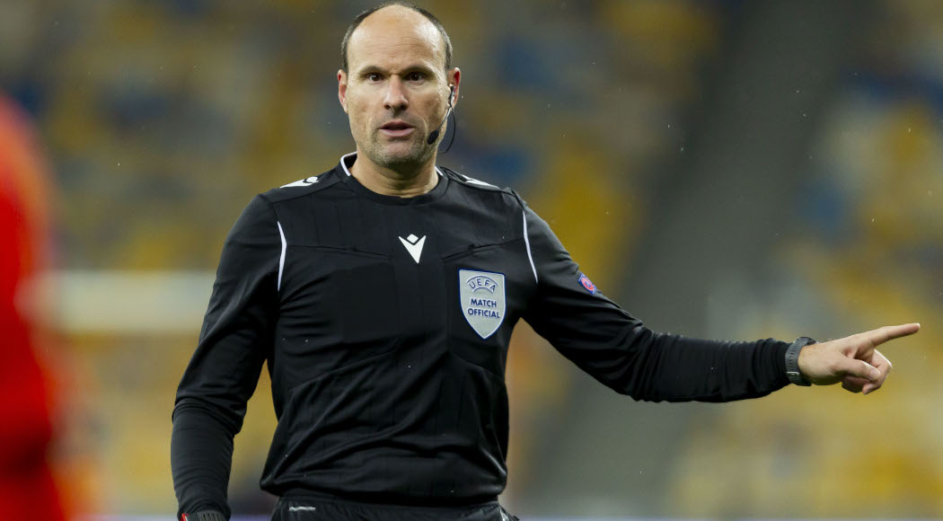 55Score, Spaniard Mateu Lahoz to referee Champs League final