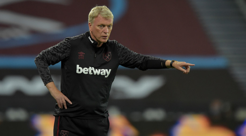 55Score, Top-four a possibility for West Ham, says Moyes